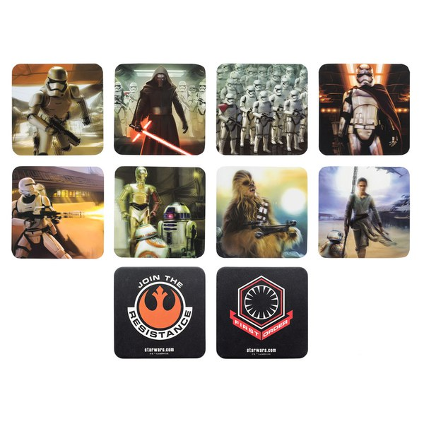 gift  office star wars episode vii d coasters