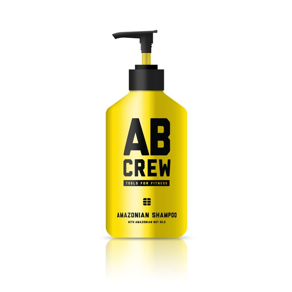 AB CREW Men's Amazonian Shampoo (480ml)