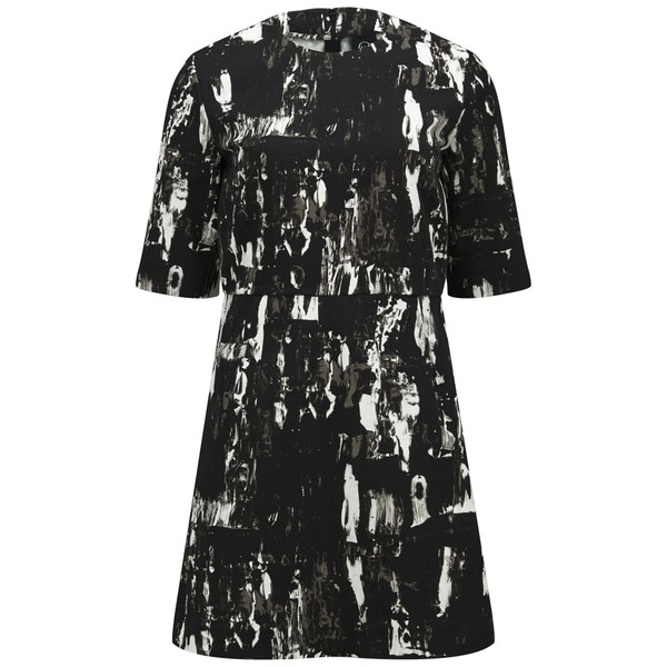 McQ Alexander McQueen Women's Party Dress - Black/White