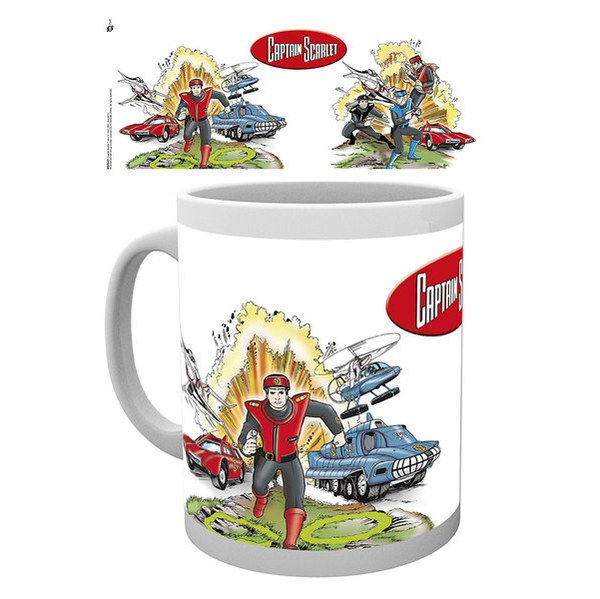 Captain Scarlet Graphics - Mug
