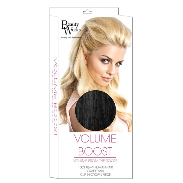 Beauty Works Volume Boost Hair Extensions - 1 Jet Set Black