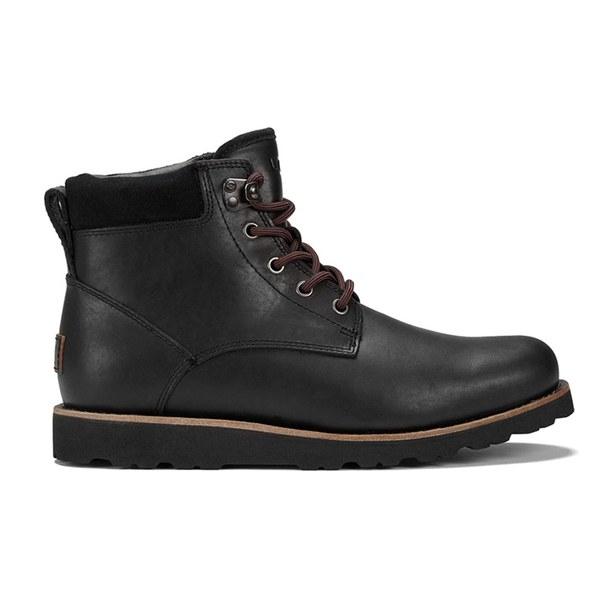ugg australia s seton waterproof leather boots black