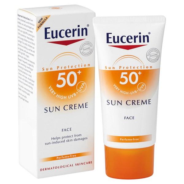 Crema Facial Protectora Eucerin® Sun Protection FPS50+ Very High (50ml)