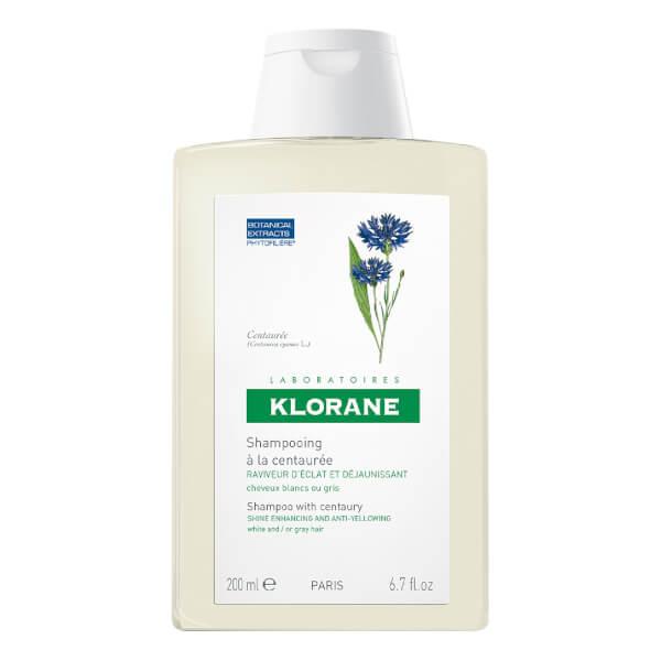 Champú del aciano cabello canoso KLORANE (200ml)