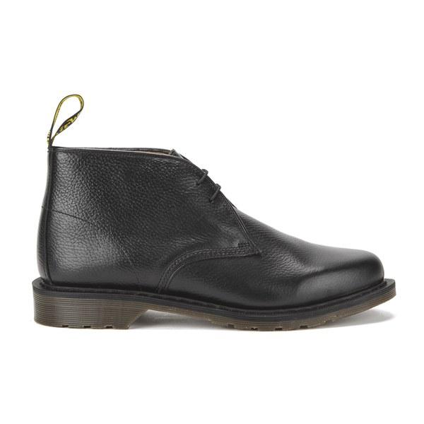 Dr. Martens Men's Oscar Sawyer New Nova Leather Desert Boots - Black