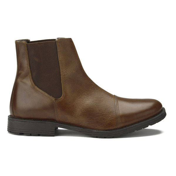 jones s radnor leather chelsea boots brown