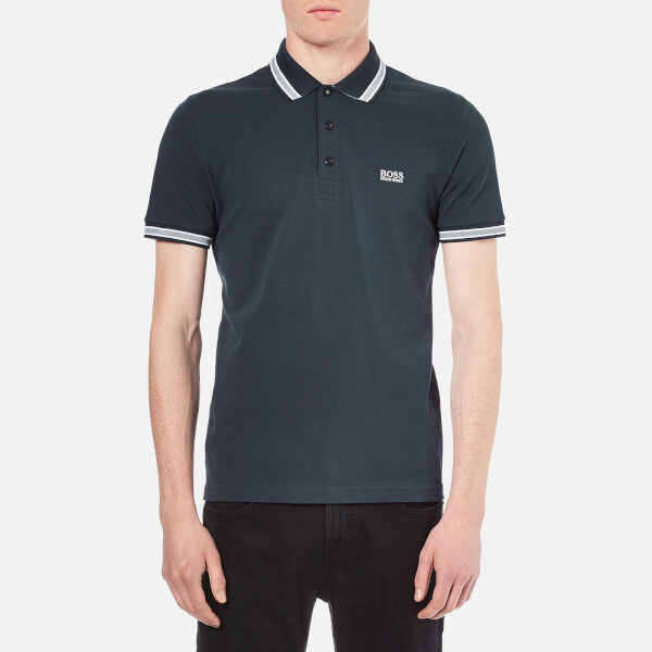 BOSS Green Men's Paddy Basic Polo Shirt - Navy