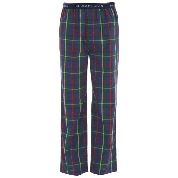 Polo Ralph Lauren Men's Long Pyjama Pants - Watford Plaid