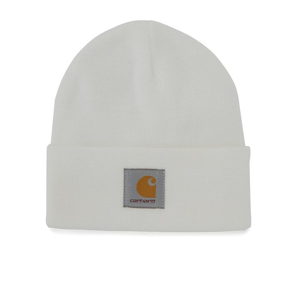 Carhartt Short Watch Hat - Acrylic White