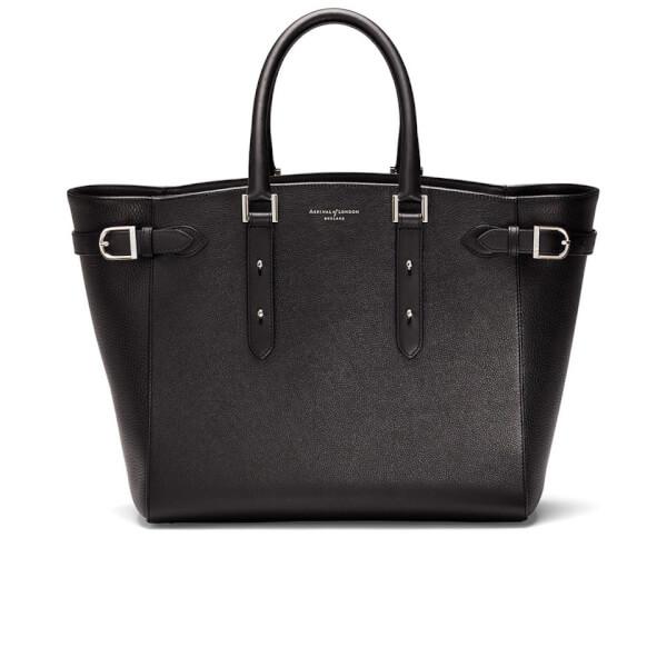 Aspinal of London Women's Marylebone Tote Bag - Black
