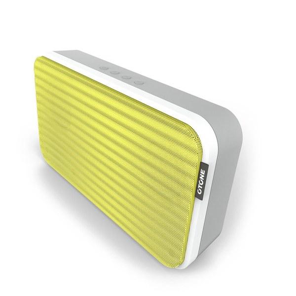 Otone BluWall Portable Bluetooth Speaker - Yellow