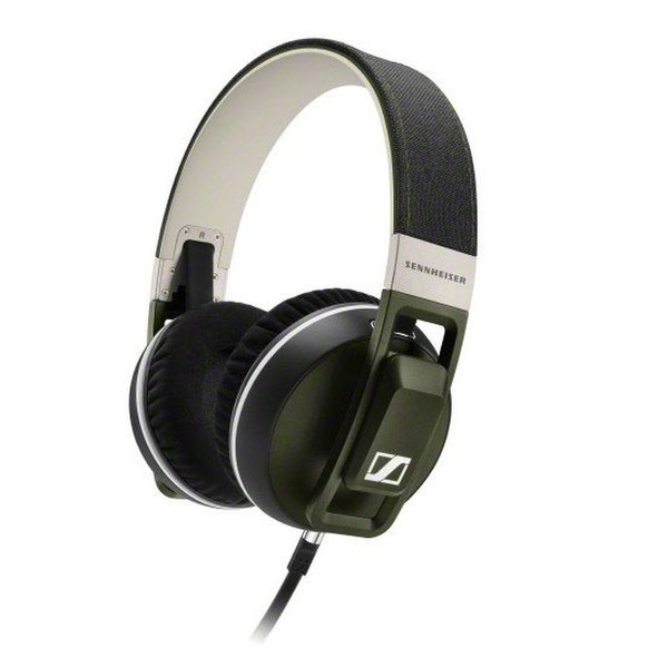 Sennheiser Urbanite XL Over Ear Headphones Inc In-Line Remote & Mic - Olive