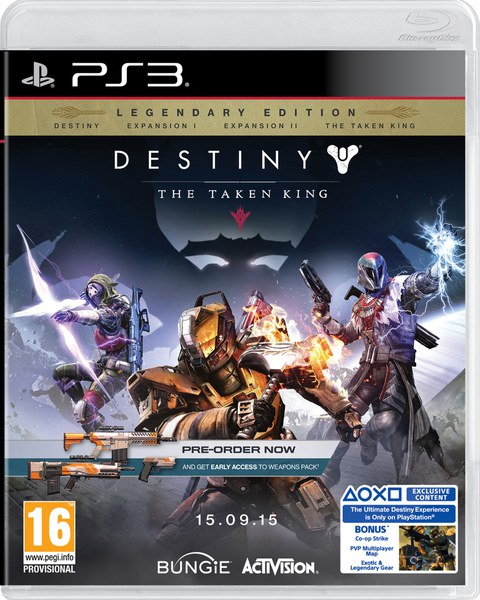 Descargar juego para ps3 Destiny The Taken King Legendary Edition [PS3][USA][4.75]