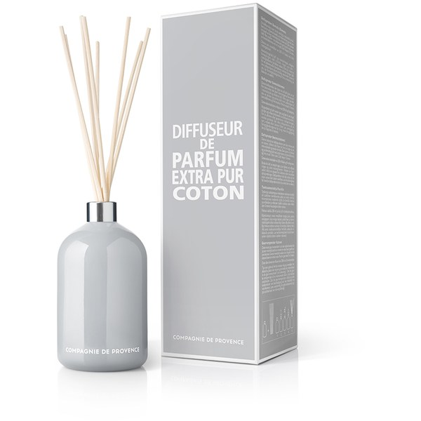 Compagnie de Provence Extra Pur Fragrance Diffuser - Cotton Flower (200ml)