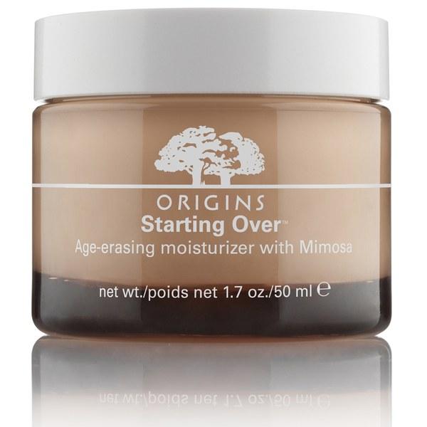 Origins Starting Over Age-Erasing crème hydratante anti-âge avec le mimosa (50ml)