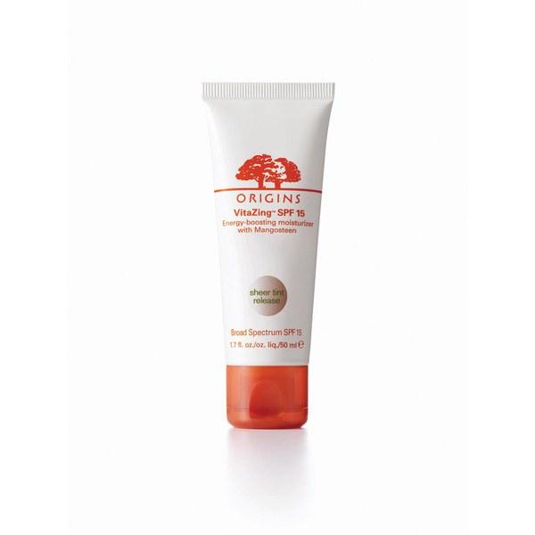 Origins VitaZing SPF15 lotion hydratante stimulante avec le mangoustanier (50ml)