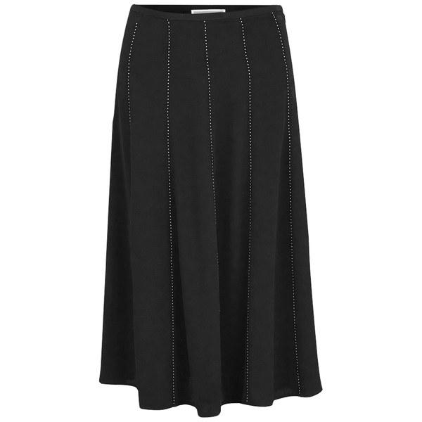 MICHAEL MICHAEL KORS Women's Studded Flare Skirt - Black