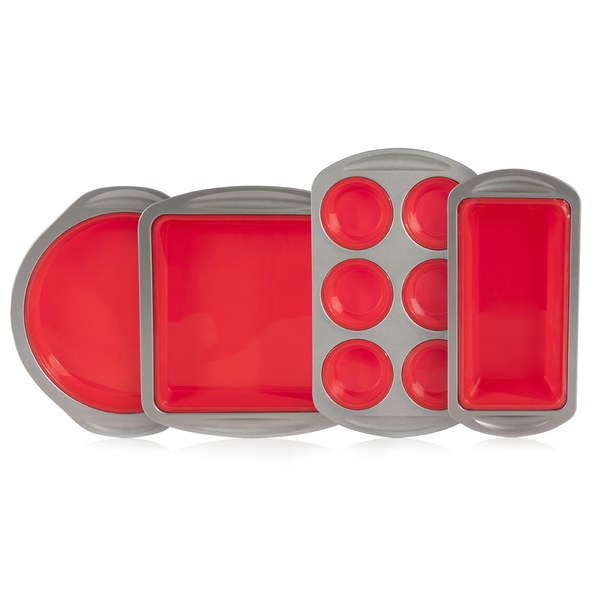 Morphy Richards Red  Piece Kitchen Utensil Set
