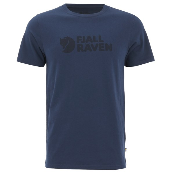 Fjallraven Men's Logo T-Shirt - Blueberry