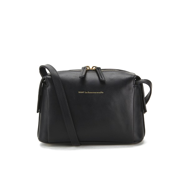 WANT LES ESSENTIELS Women's City Shoulder Bag - Jet Black