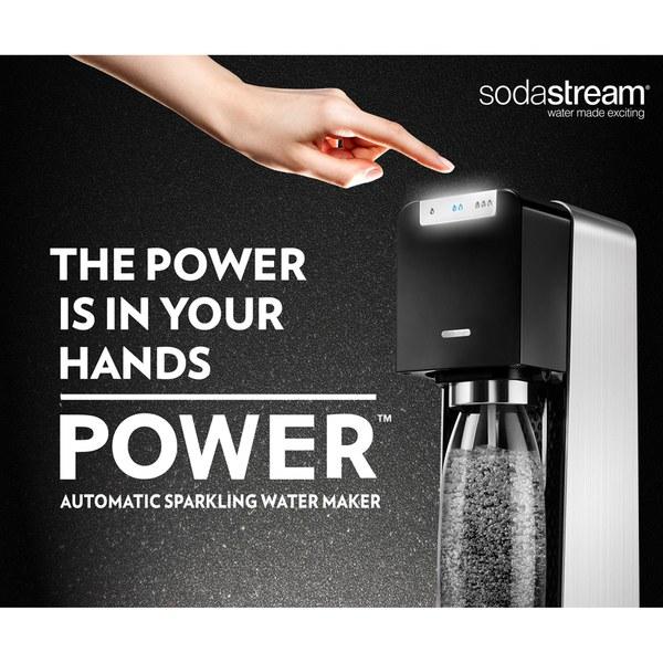 sodastream power sparkling water maker black iwoot. Black Bedroom Furniture Sets. Home Design Ideas