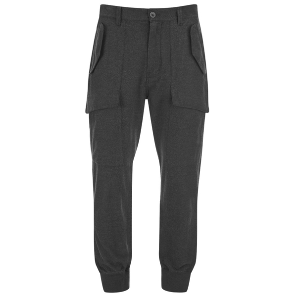 Helmut Lang Men's Exposed Pocket Joggers - Grey