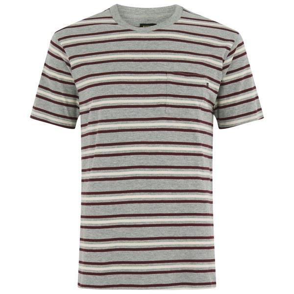 OBEY Clothing Men's Embarco T-Shirt - Burgundy Multi