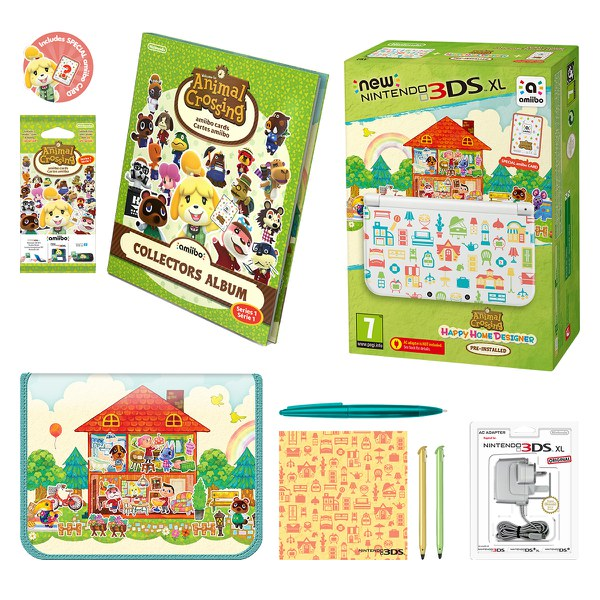 Pack Nintendo 3ds xl Animal Crossing New Leaf New Nintendo 3ds xl Animal