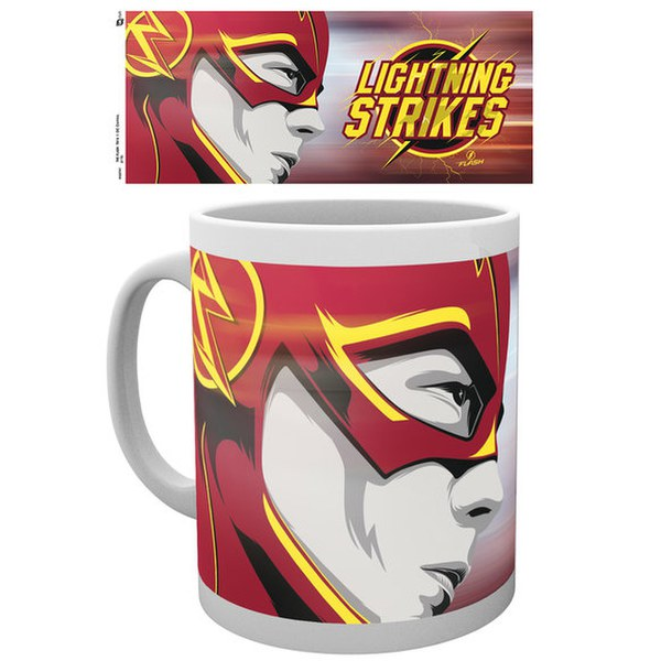 DC Comics The Flash Lightning Strikes 2 - Mug