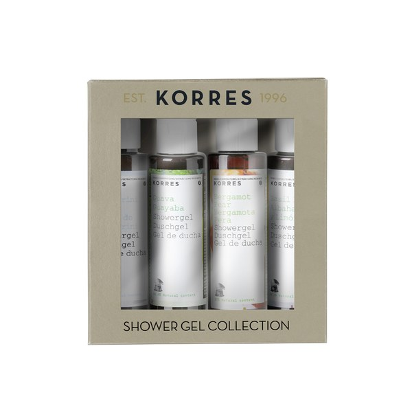 Korres Mini Shower Gel Set (Worth £12.00)