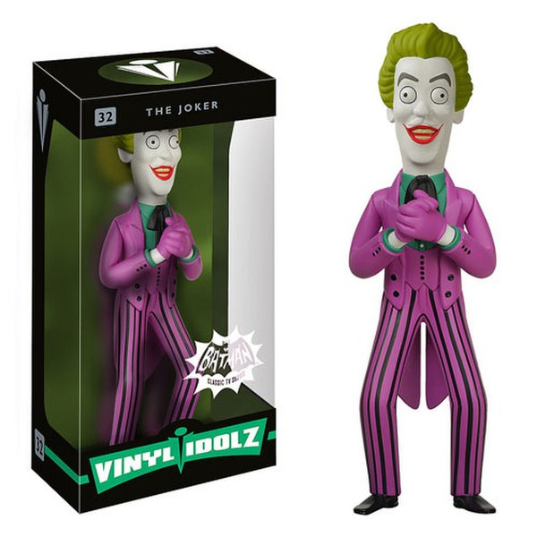 DC Comics Batman Joker 1966 Vinyl Sugar Idolz Figure