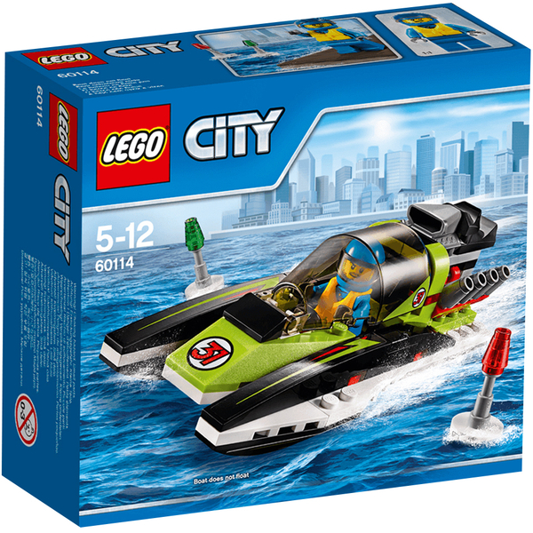 LEGO City: Race Boat (60114)