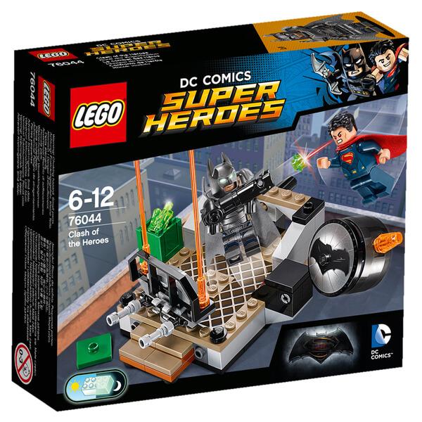 LEGO DC Comics Batman v Superman Clash of the Heroes (76044)