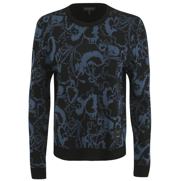 rag & bone Women's Liberty Pullover - Blue
