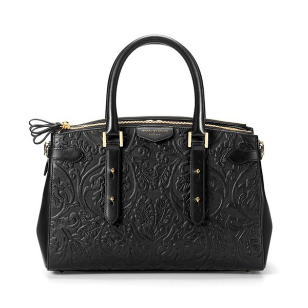 Aspinal of London Women's Brook Street Tote Bag - Black