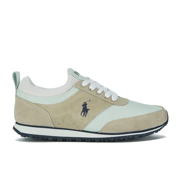 Polo Ralph Lauren Men's Ponteland Suede/Leather Trainers - White