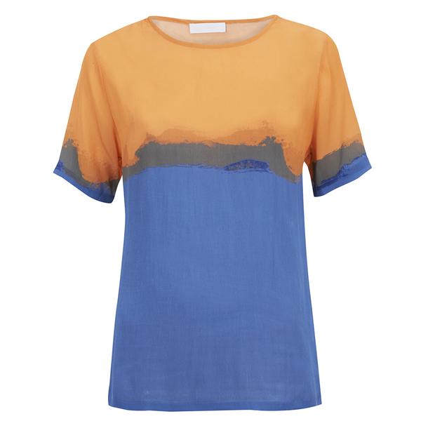 2NDDAY Women's Rothko Printed Top - Bright Cobalt