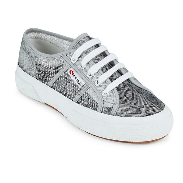 superga women 39 s 2750 animalnetw classic trainers snake silver free uk delivery over 50. Black Bedroom Furniture Sets. Home Design Ideas