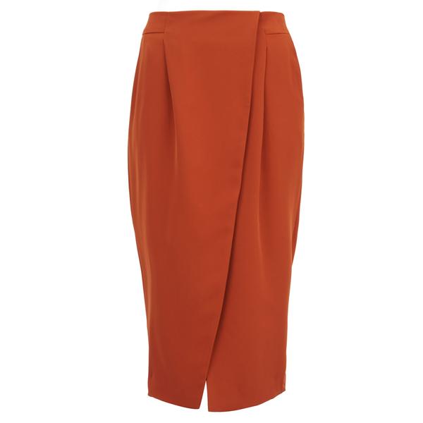 Finders Keepers Women's Sweet Talker Skirt - Terracotta