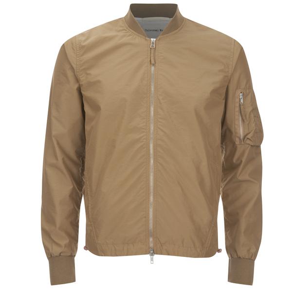 Universal Works Men's MA1 Idra Nylon Jacket - Camel