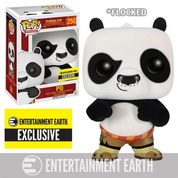Kung Fu Panda Po Flocked Pop! Vinyl Figure