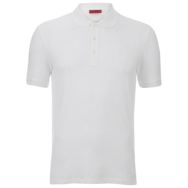 HUGO Men's Nono Plain Polo Shirt - White