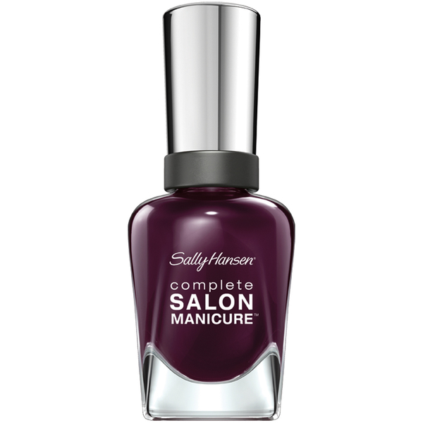 Esmalte de uñas Complete Salon Manicure Nail Colour - Pat On the Black de Sally Hansen 14,7 ml