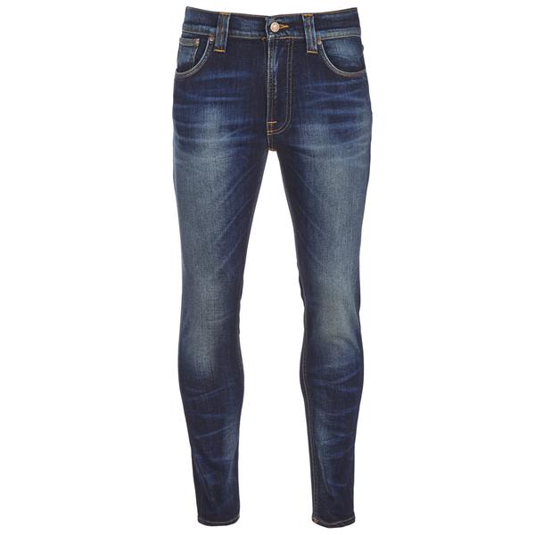 Nudie Jeans Men's Lean Dean Slim Jeans - Peel Blue