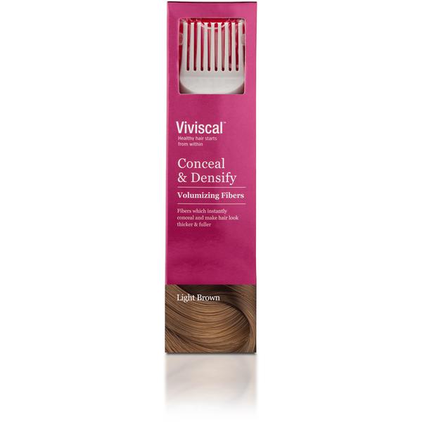 Viviscal Hair Thickening Fibres for Women - Light Brown