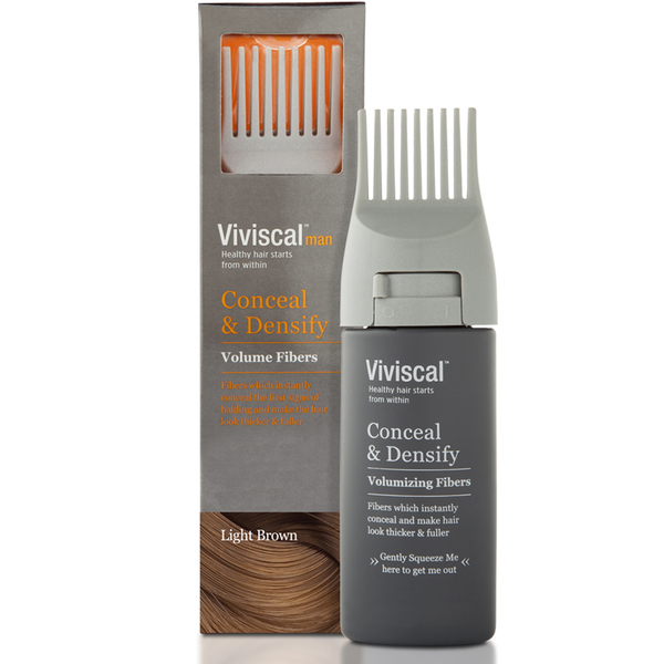 Viviscal Hair Thickening Tresse Men Lumière - Brown