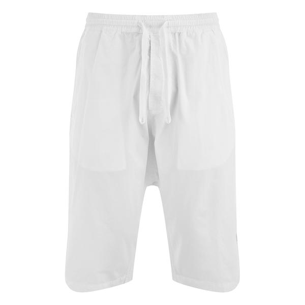 Maharishi Men's Summer Long Shorts - Optic White