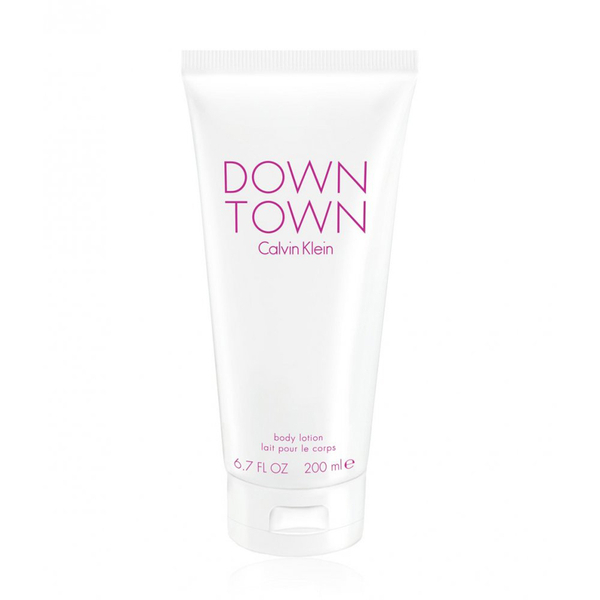 Loción corporal Down Town Body Lotion de Calvin Klein (200 ml)