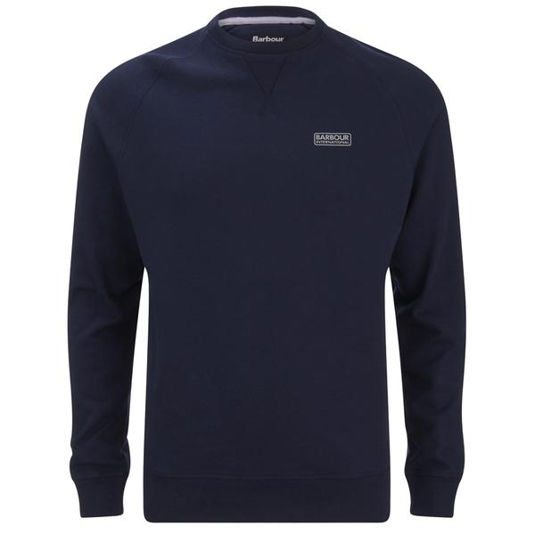 Barbour International Men's Small Logo Sweatshirt - Navy