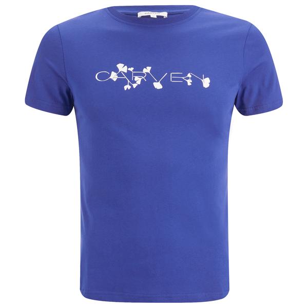 Carven Men's Logo T-Shirt - Blue